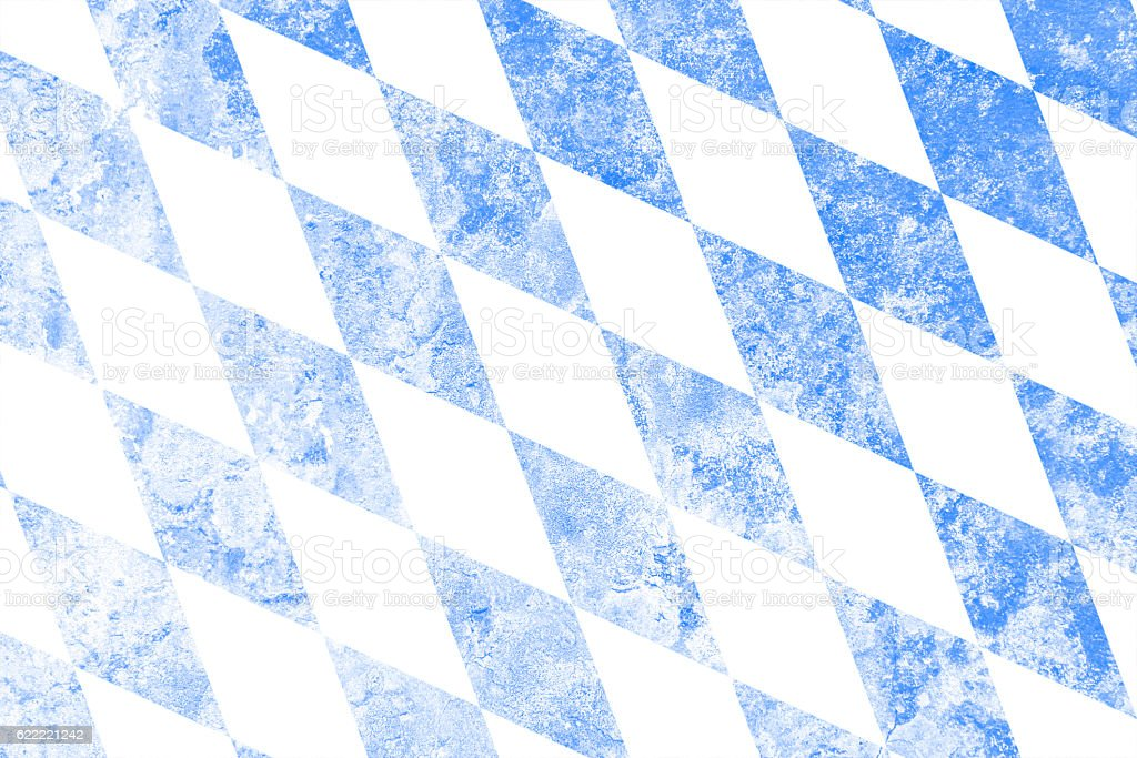 Flagge of Bavaria – Foto