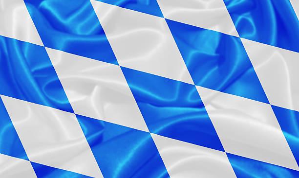 flagge von bayern-in deutschland, europa - freistaat stock-fotos und bilder