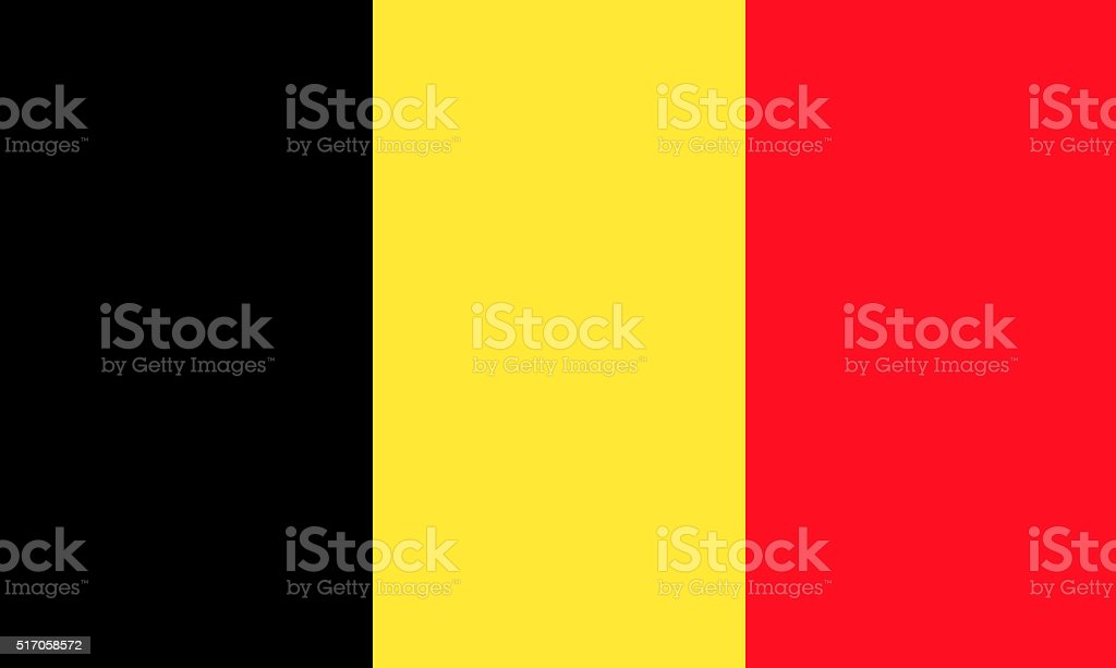 Flag of Belgium​​​ foto