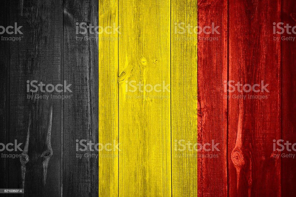 Bandera de Bélgica - foto de stock