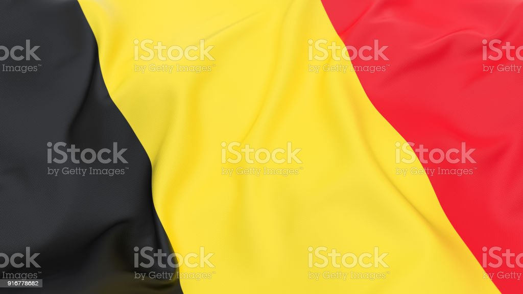Flagge von Belgien  – Foto