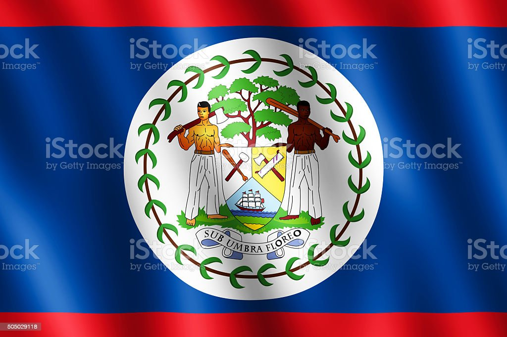 flag of belize waving in the wind stock photo more pictures of