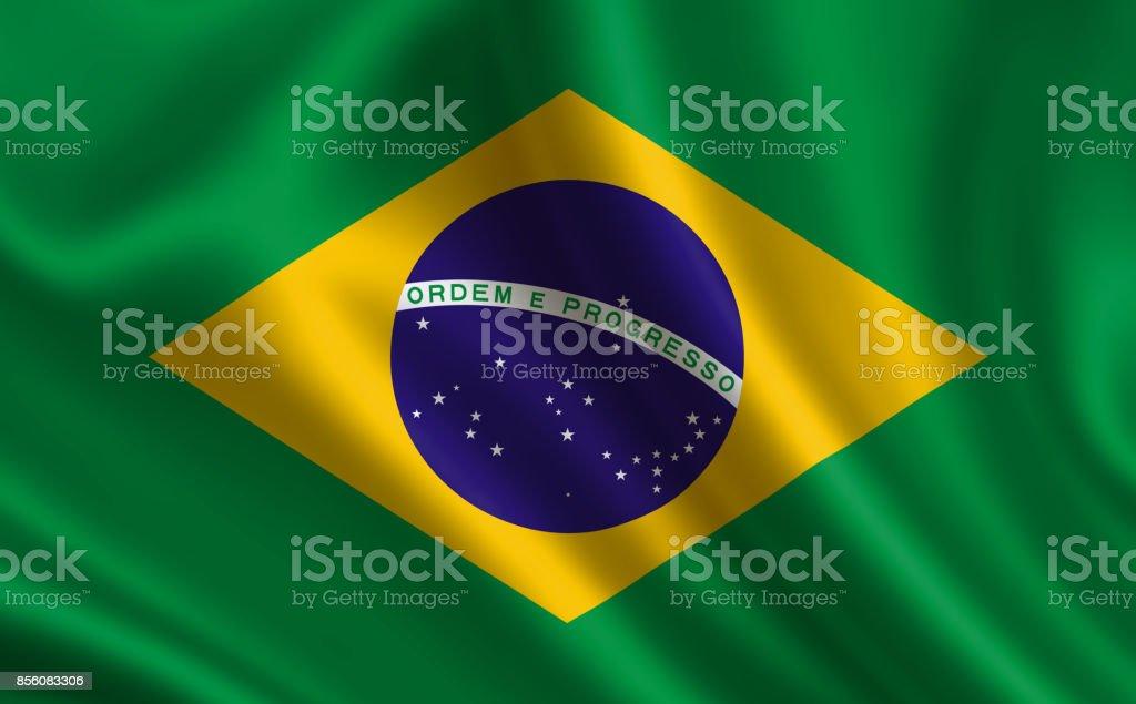 Bandeira do Brasil. Parte da série. - foto de acervo
