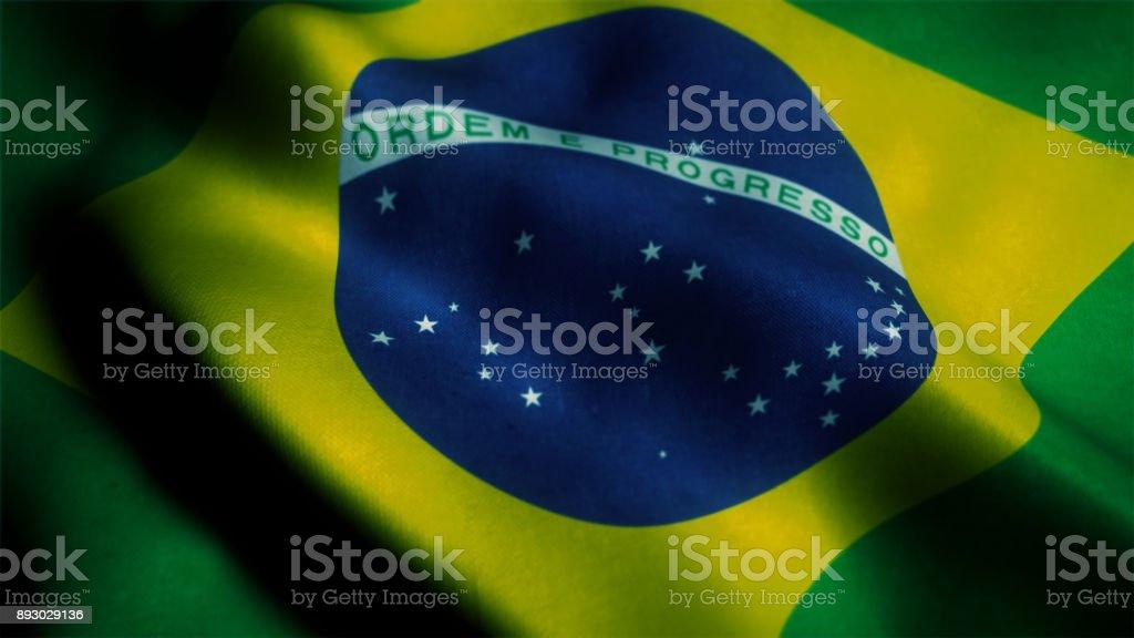 Bandeira do Brasil - foto de acervo