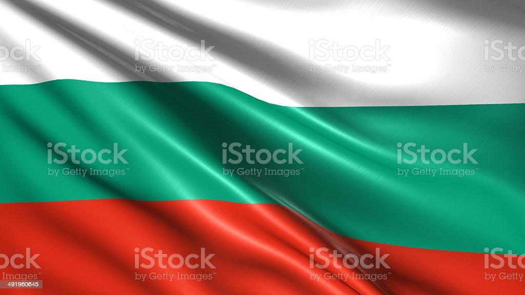 Flaga Bułgarii – zdjęcie