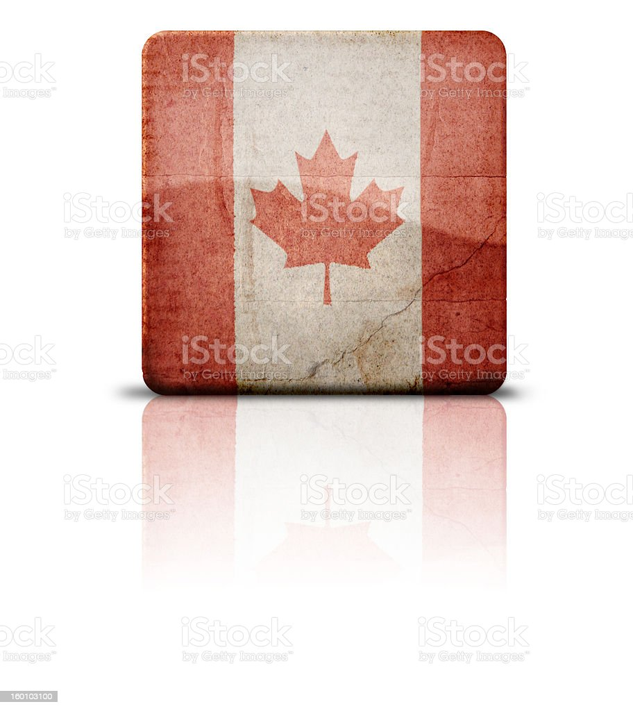 Flag Of Canada royalty-free stock photo