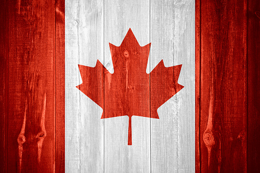Flag Of Canada Stock Photo - Download Image Now