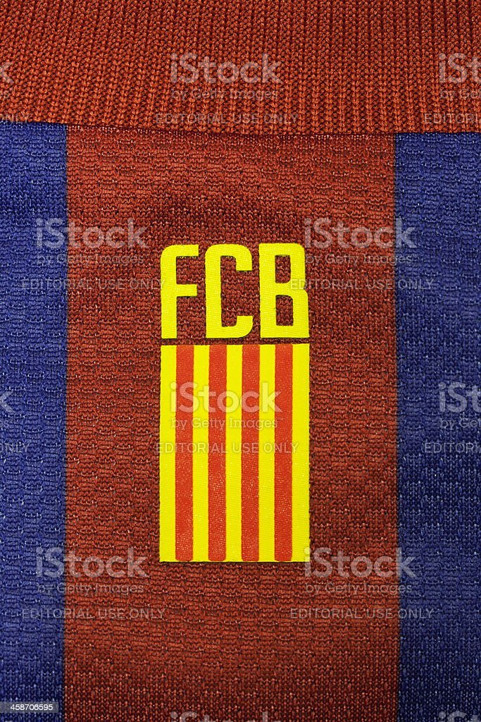 Flag Of Catalonia On Fc Barcelona Top Stock Photo Download Image Now Istock