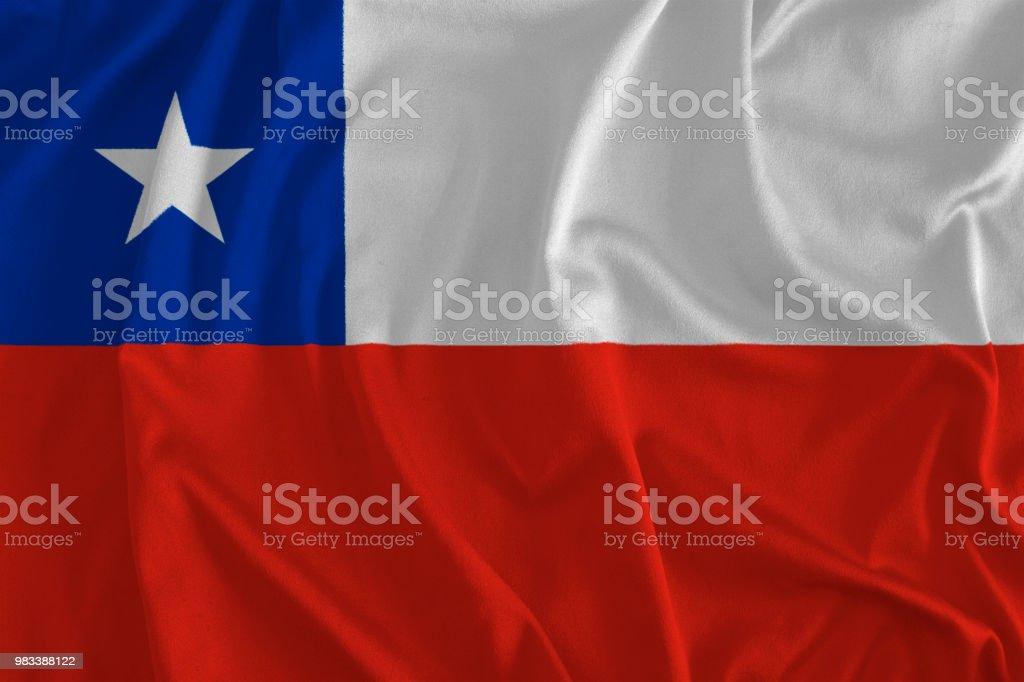 Bandeira do Chile fundo - foto de acervo