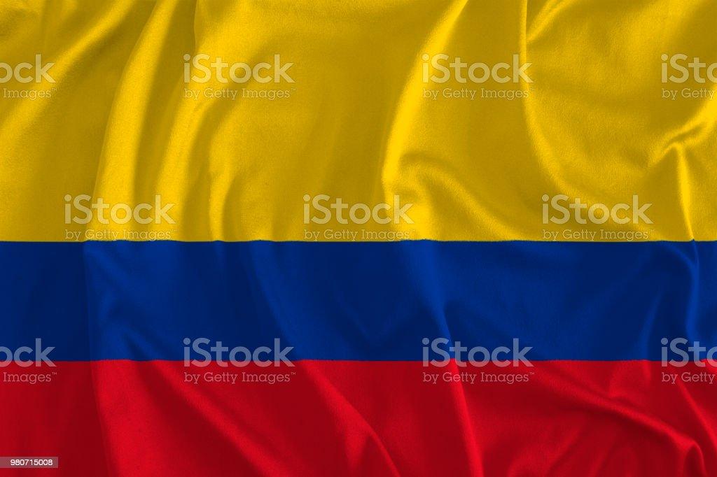 Bandera de fondo Colombia - foto de stock
