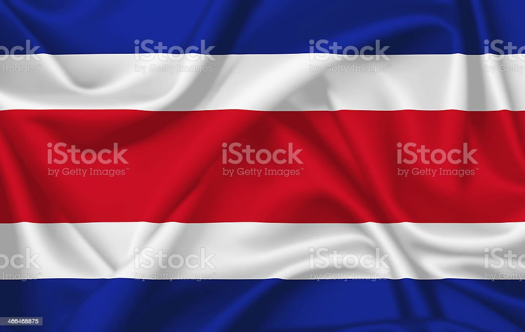Bandera de Costa Rica - foto de stock