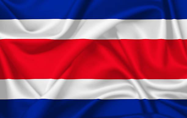 Cтоковое фото Флаг Коста-Рика