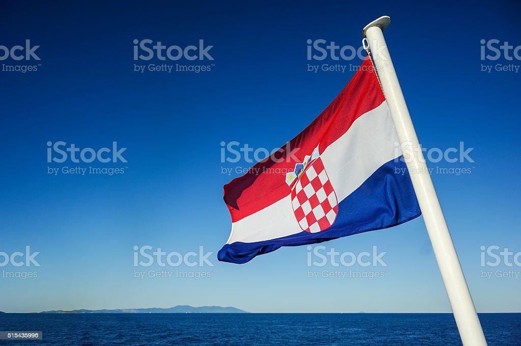 Flagge von Kroatien – Foto