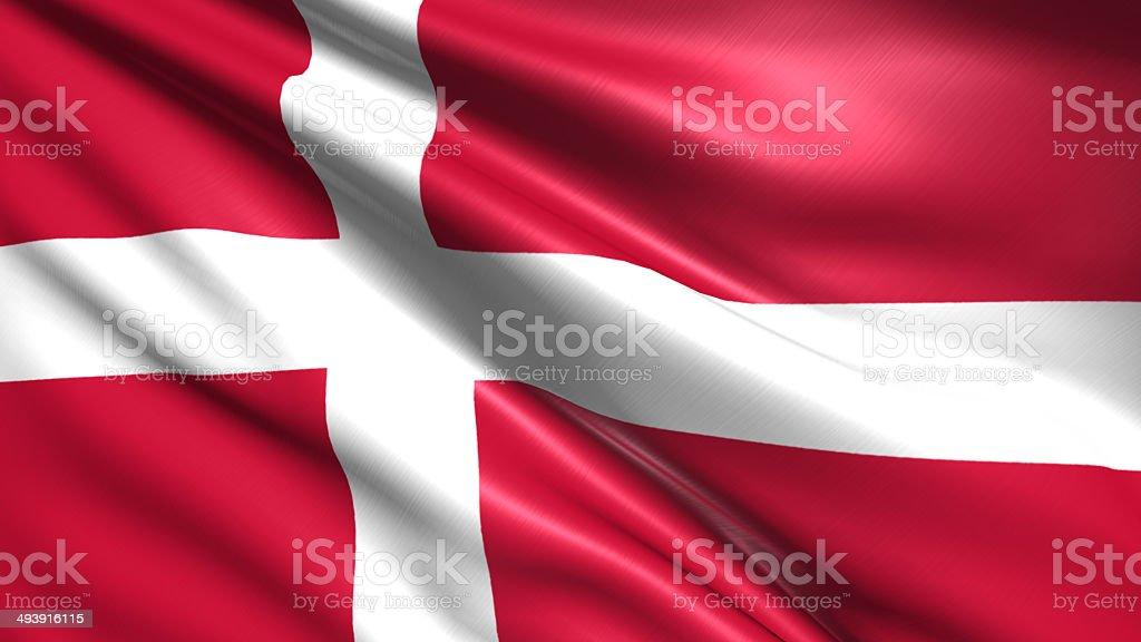 Flaga Danii – zdjęcie