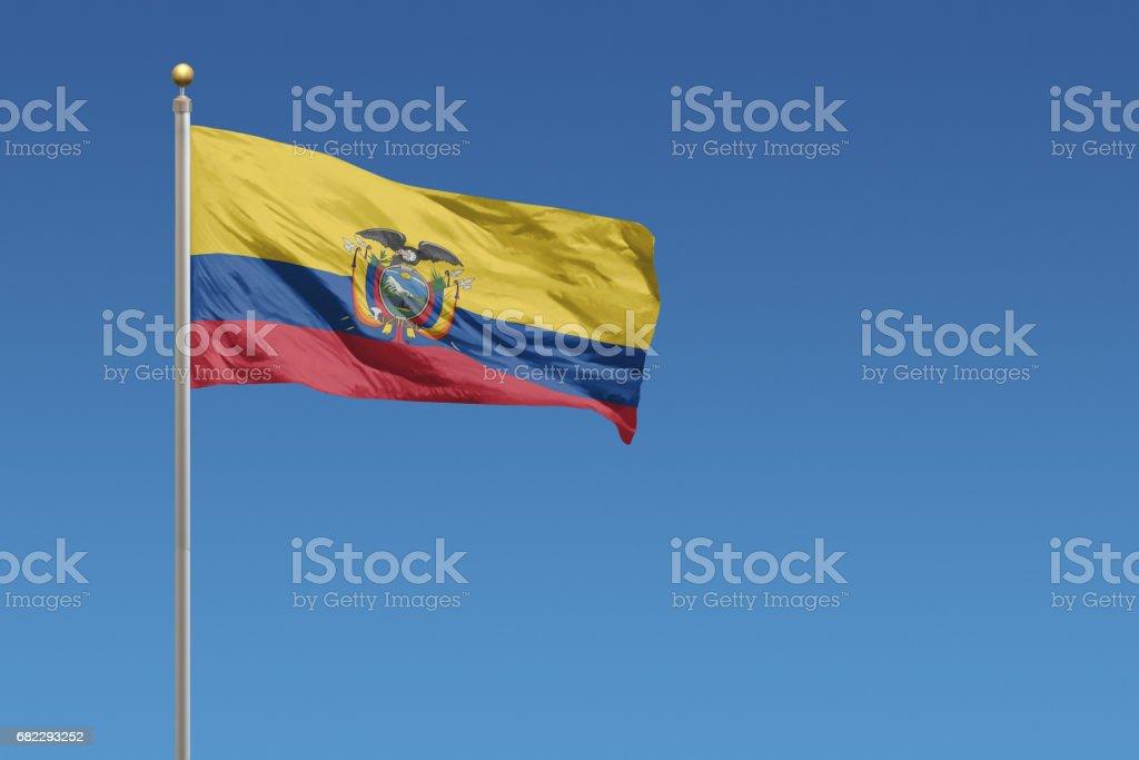 Bandera de Ecuador - foto de stock