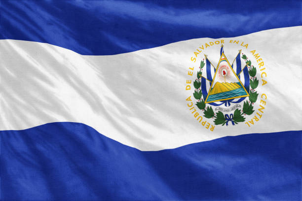 Royalty Free El Salvador Flag Pictures, Images and Stock ...