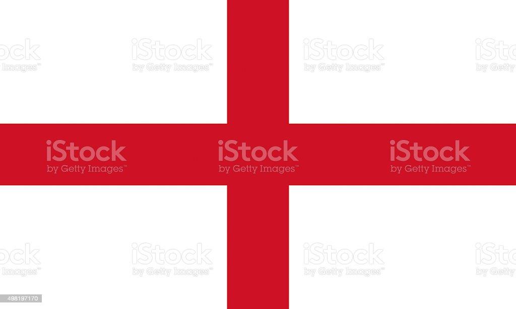 Flag of England stock photo