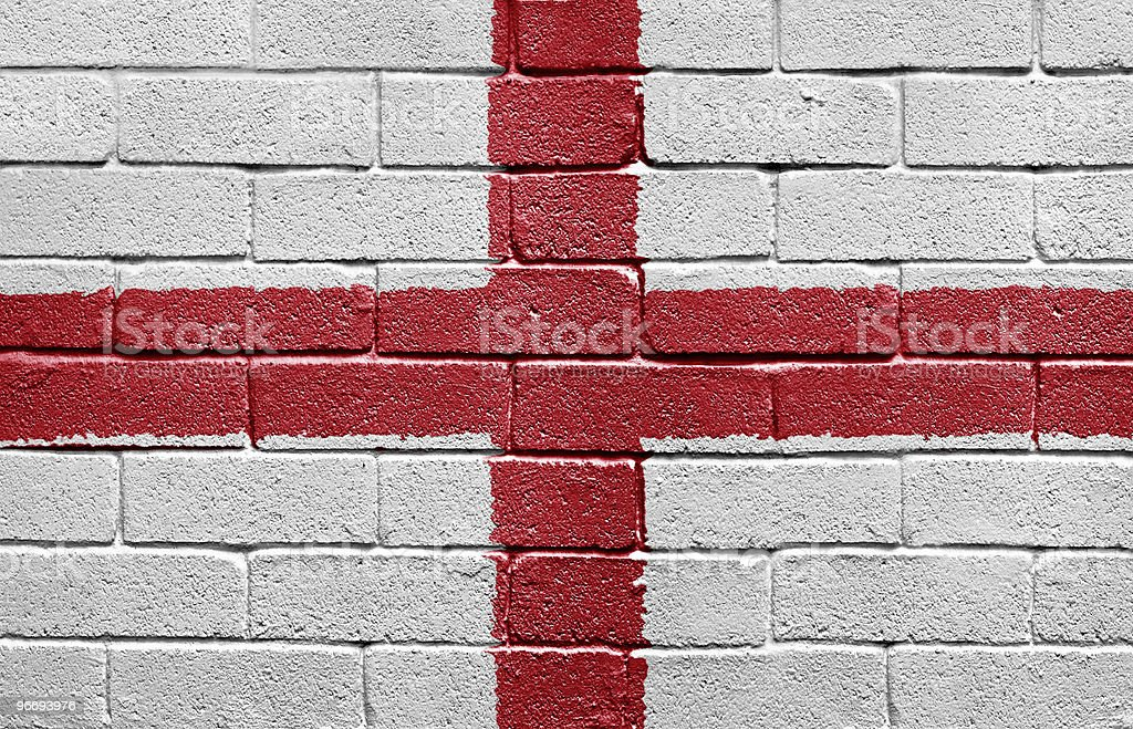 Flag of England royalty-free stock photo