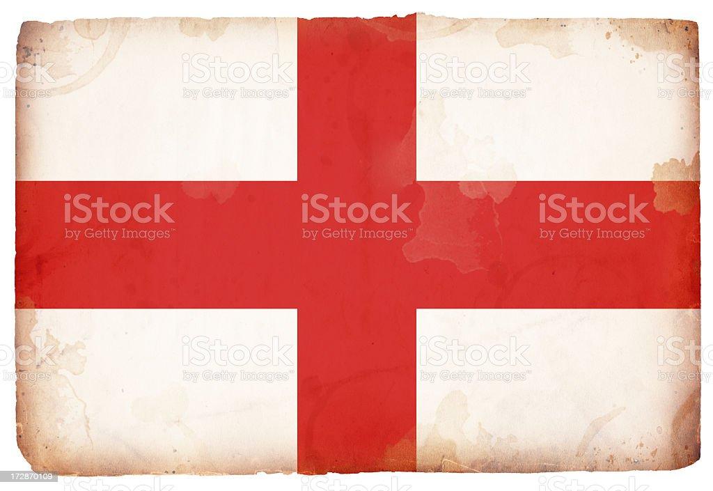 Flag of England XXL royalty-free stock photo