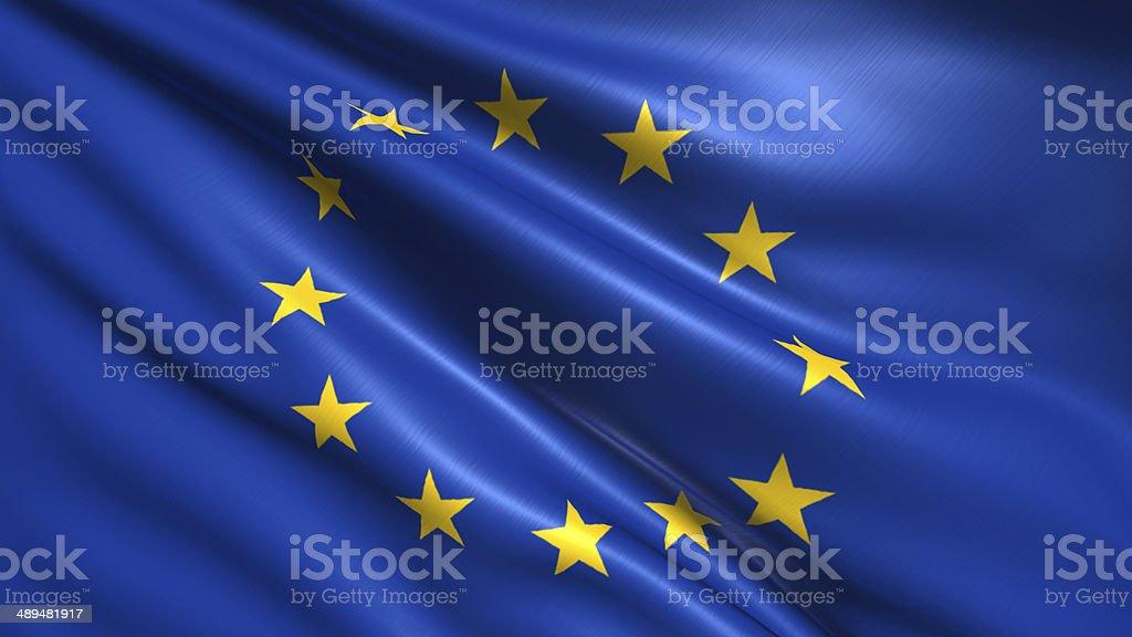 Flaga Unii Europejskiej – zdjęcie