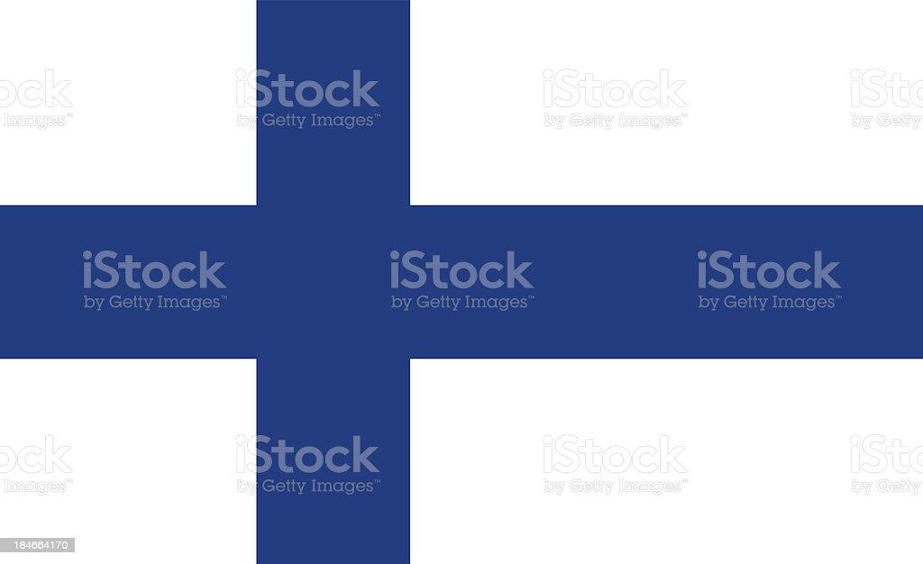 Flagge von Finnland – Foto