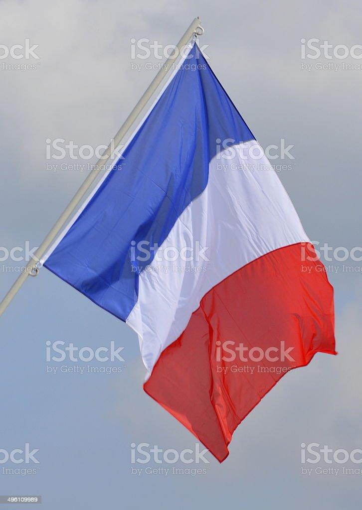 Flag of France stock photo