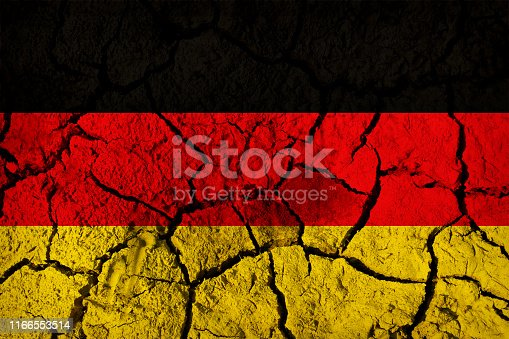The flag of Germany or German flag is a tricolour consisting of three equal horizontal bands displaying the national colours of Germany: black, red, and gold. The flag was first adopted as the national flag of modern Germany in 1919, during the Weimar Republic, until 1933.