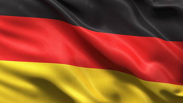bandera de alemania - alemania fotografías e imágenes de stock