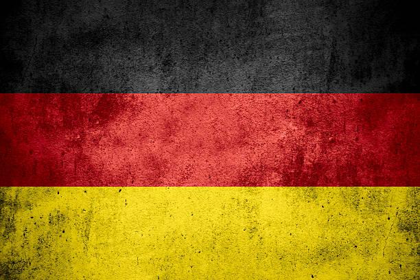 drapeau de l'allemagne - drapeau allemand photos et images de collection