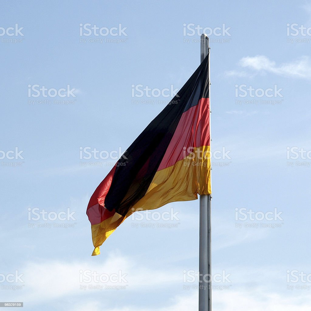 Flag of Germany royalty-free stock photo