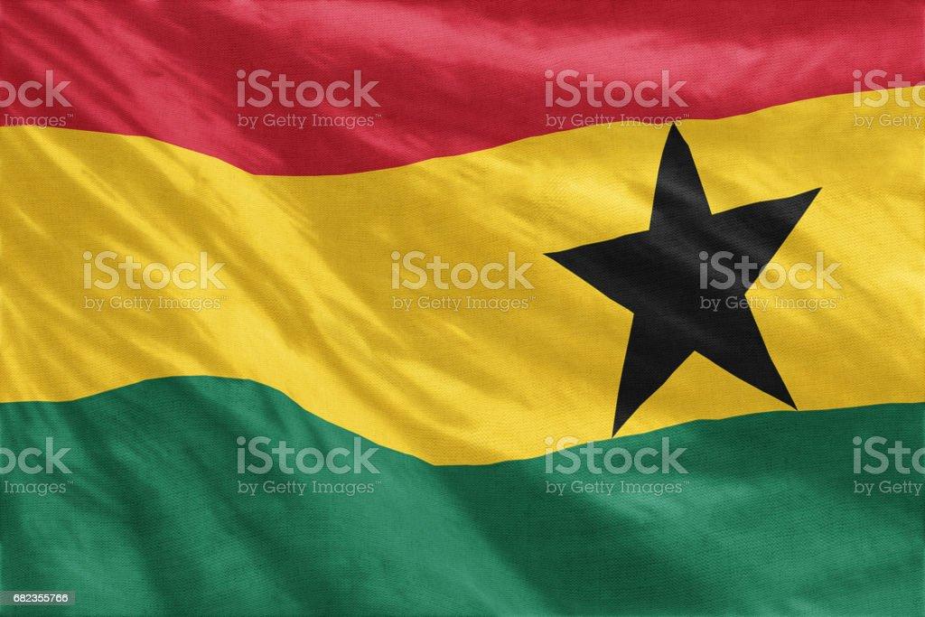 Flag of Ghana royalty free stockfoto