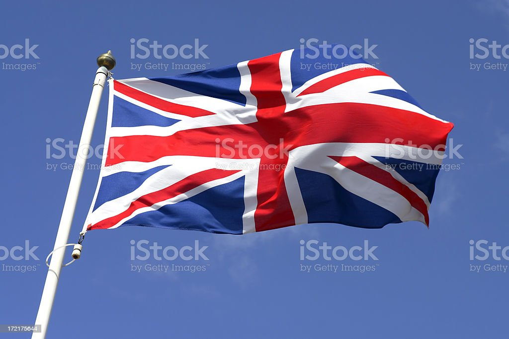 Flag of Great Britain II stock photo