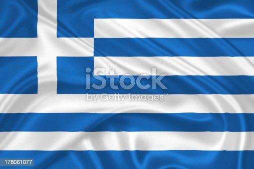 istock flag of Greece 178061077