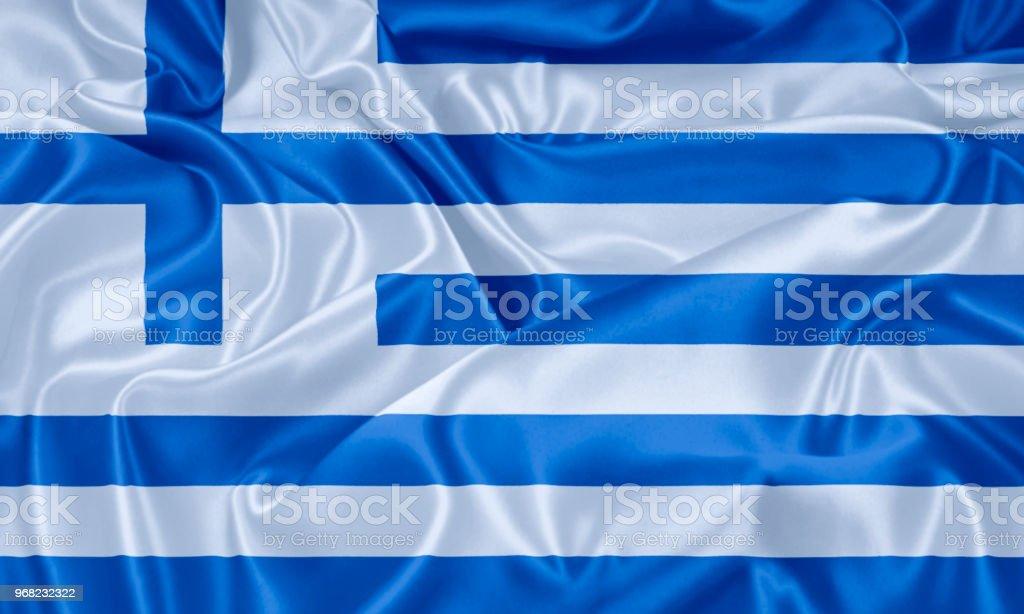 Bandera de Grecia  - foto de stock