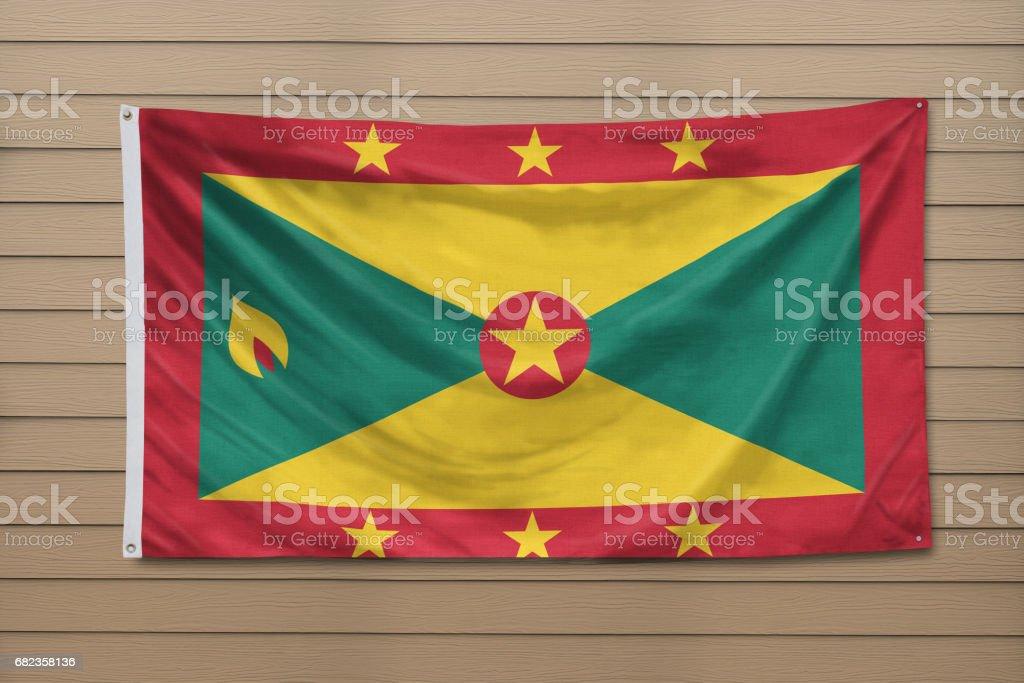 Flag of Grenada royalty free stockfoto