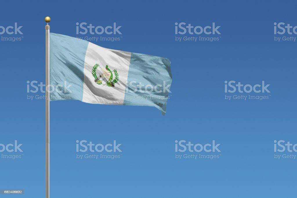 Flag of Guatemala - foto de stock