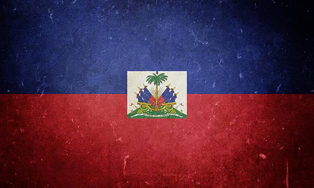 Flag of Haiti Flag of Haiti. Textures added. Haiti Flag stock pictures, royalty-free photos & images