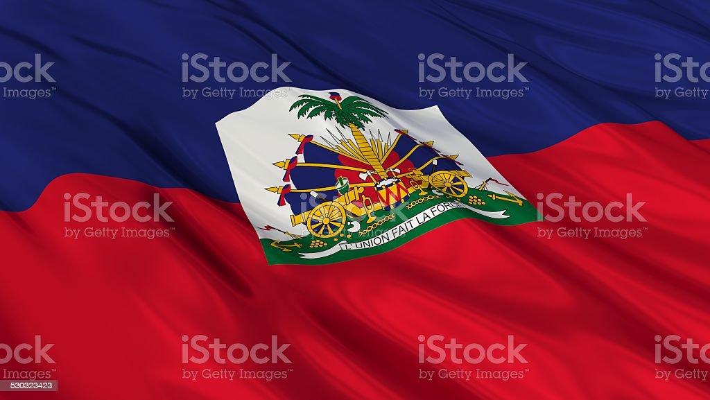 Flag of Haiti. stock photo