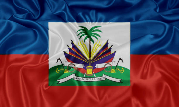 Flag of Haiti Flag of Haiti Haiti Flag stock pictures, royalty-free photos & images