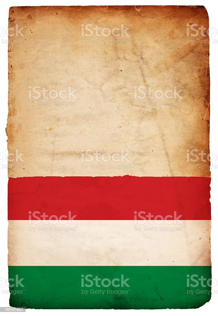 Flag of Hungary - XXXL stock photo