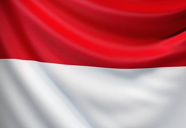 bandeira da indonésia - bandeira da indonesia - fotografias e filmes do acervo