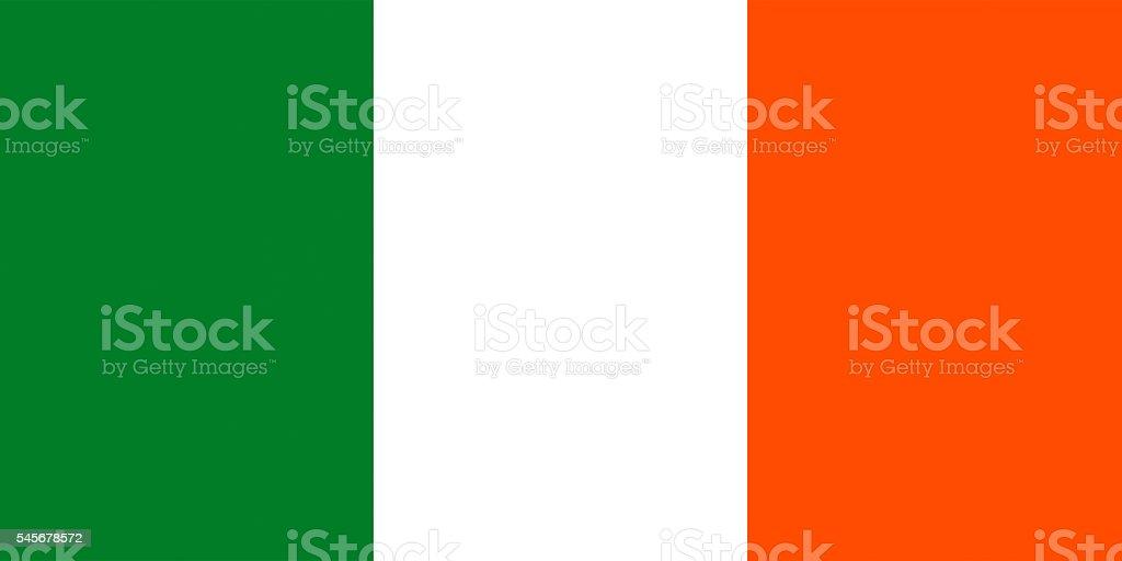 Flag of Ireland stock photo