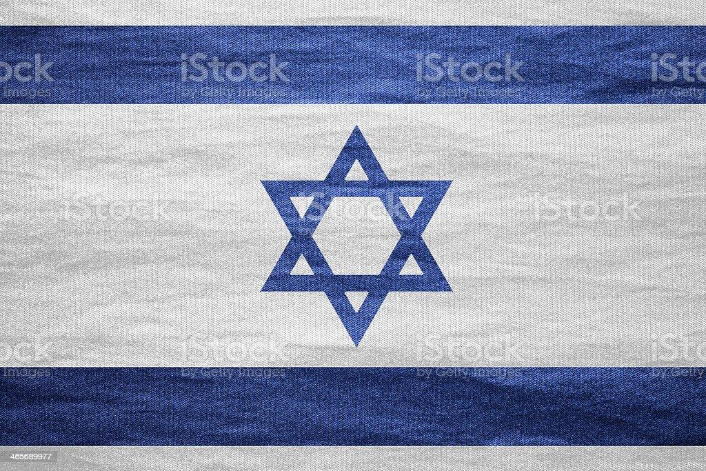 flag of Israel stock photo