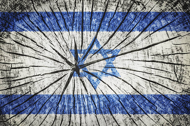 flag of israel - detachment stock pictures, royalty-free photos & images