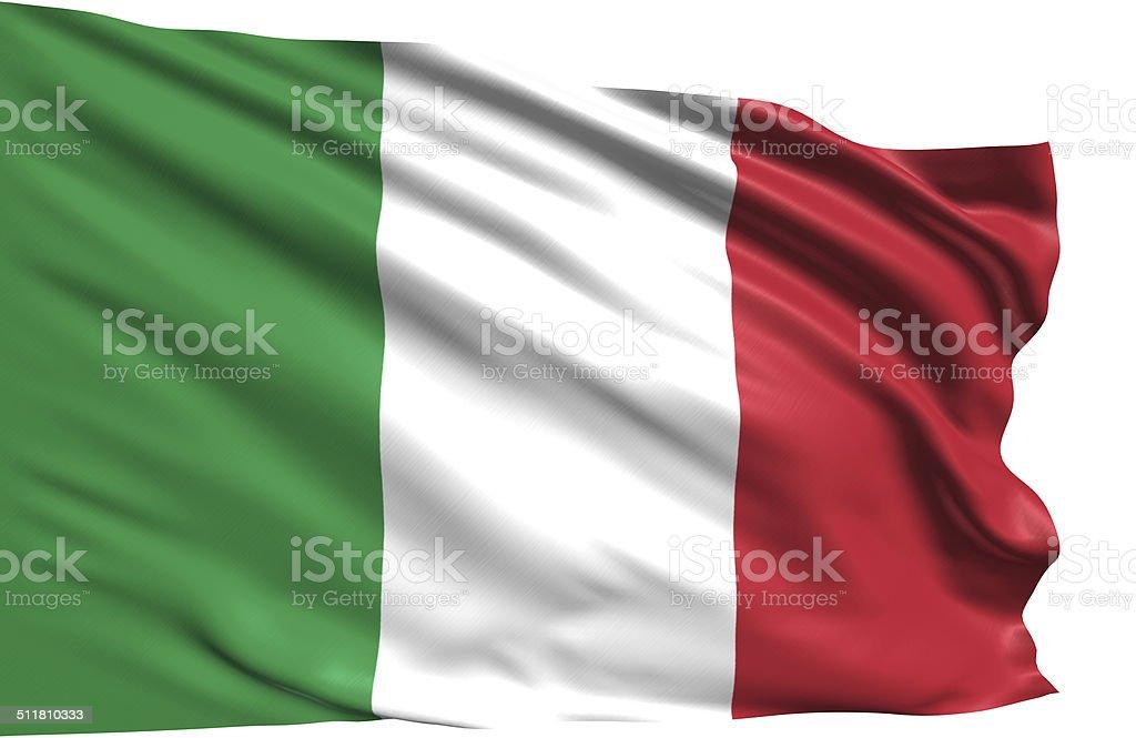 Bandera de Italia - foto de stock