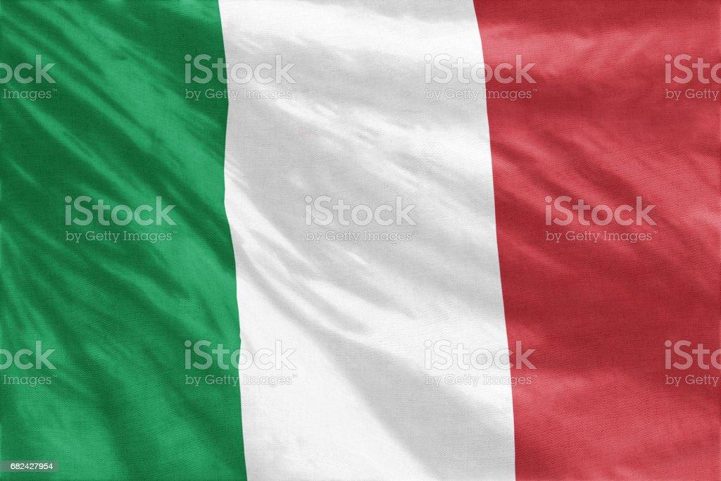 Flag of Italy royalty-free stock photo