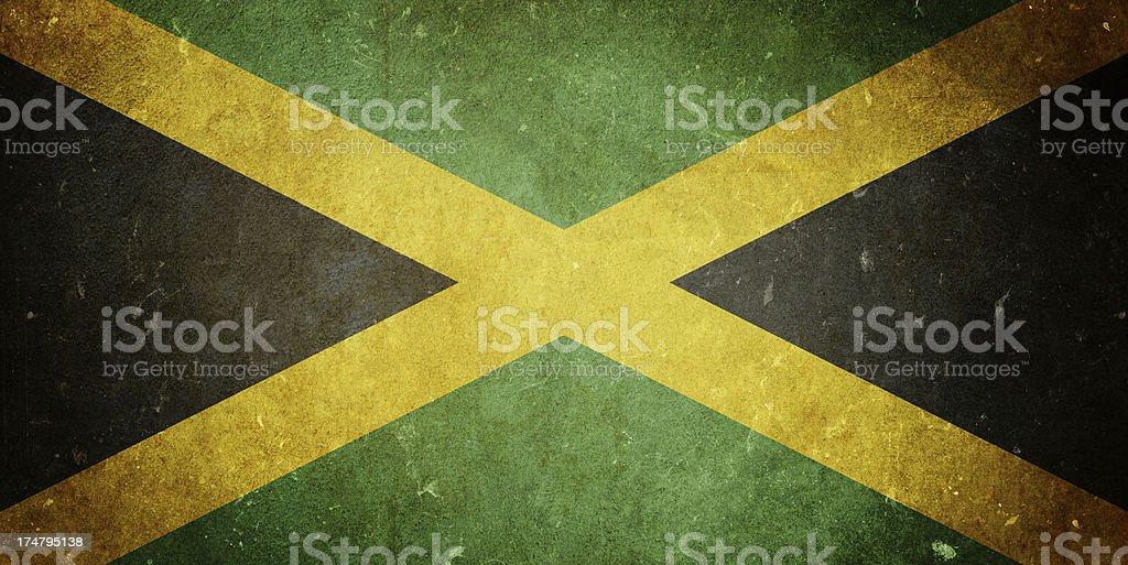 Bandeira da Jamaica - foto de acervo