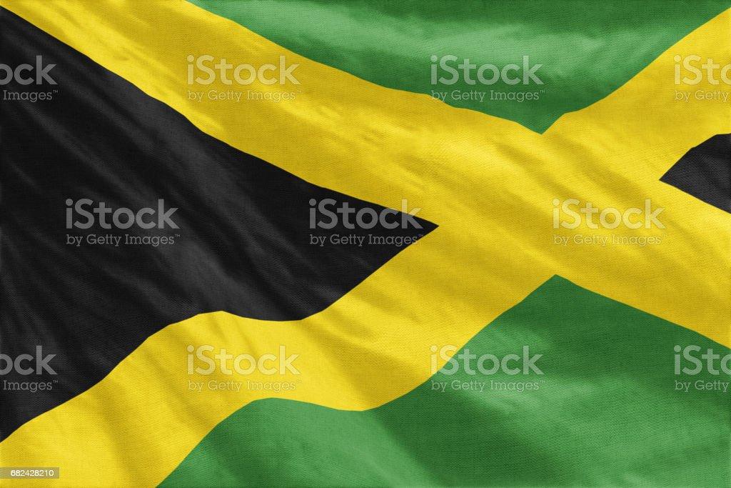 Flag of Jamaica Lizenzfreies stock-foto