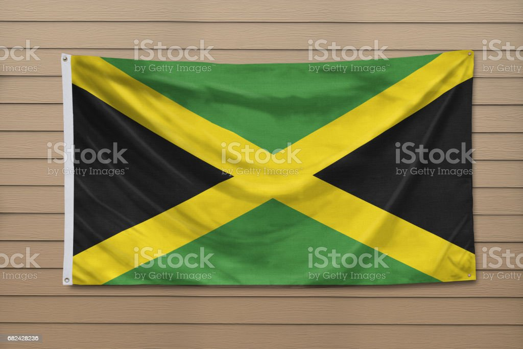 Flag of Jamaica Lizenzfreies stock-foto