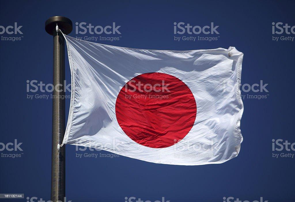 Bandeira do Japão - foto de acervo